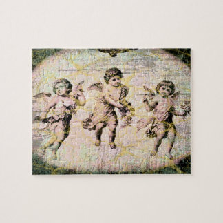 Three Angels (Antique) Jigsaw Puzzle