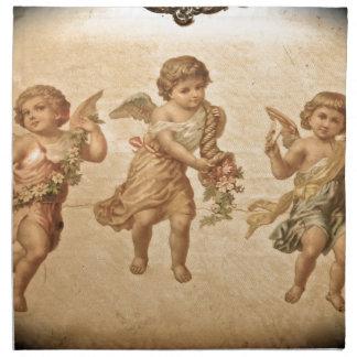 Three Angels (Antique) Napkin