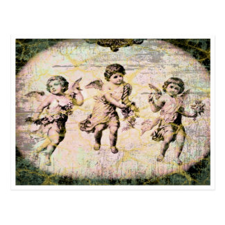Three Angels (Antique) Postcard