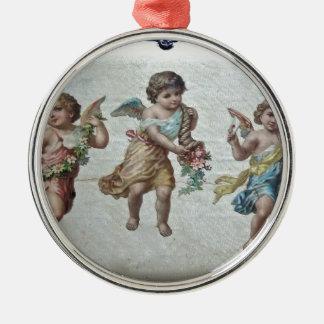 Three Angels (Colour) Christmas Ornament