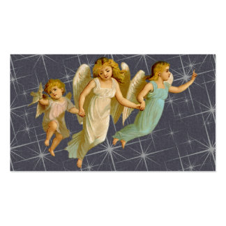Three Angels Pack Of Standard Business Cards