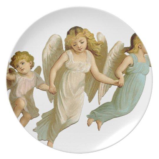 Three angels plate