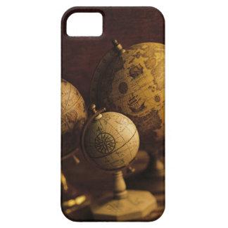 Three antique globes iPhone 5 case
