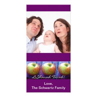 Three Apple Rosh Hashanah Photo Card
