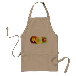 Three apples standard apron