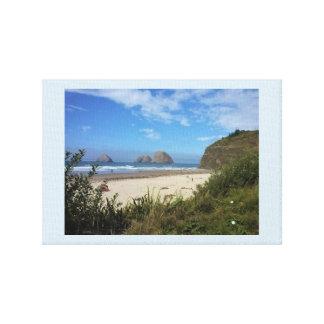 Three Arch Rocks, Oceanside, OR Canvas Print