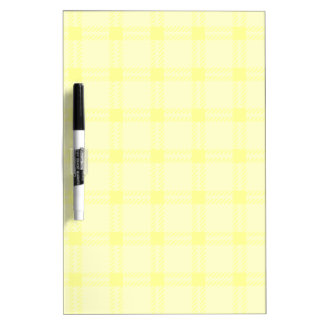 Three Bands Large Square - Yellow1 Dry Erase Board