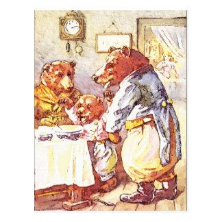 Three Bears Postcard
