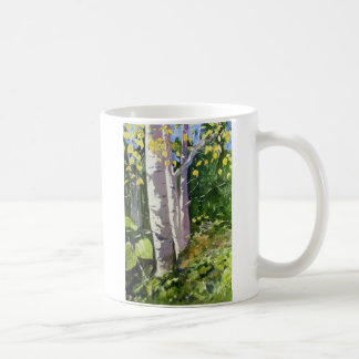 Three Birch Coffee Mug
