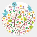 three birds stickers