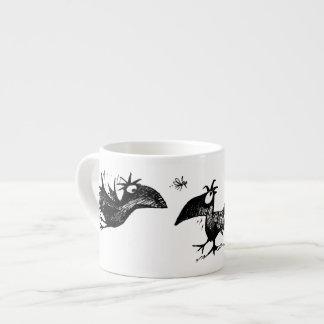 Three Black Crows Espresso Mug