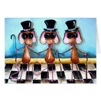 Three Blind Mice Card