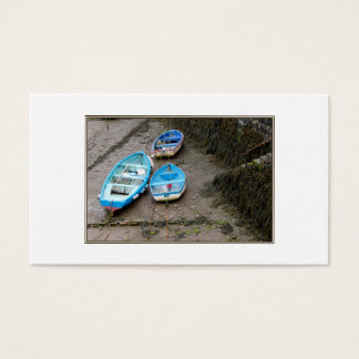 Three Boats. Business Card