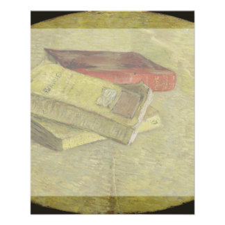 Three Books by Vincent Van Gogh 11.5 Cm X 14 Cm Flyer