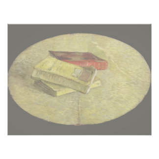 Three Books by Vincent Van Gogh Personalized Flyer