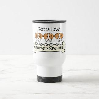 Three Brittany Spaniels Mug