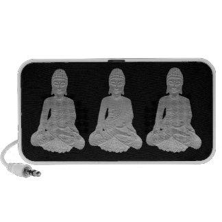 Three Buddhas Travel Speakers