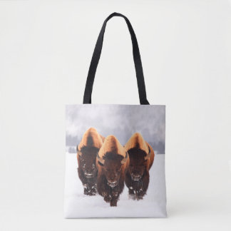 Three Buffalo Tote Bag