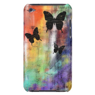Three Butterflies Barely There iPod Cover