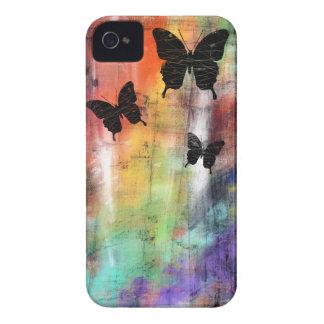 Three Butterflies iPhone 4 Case-Mate Case