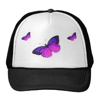 THREE BUTTERFLYS CAP