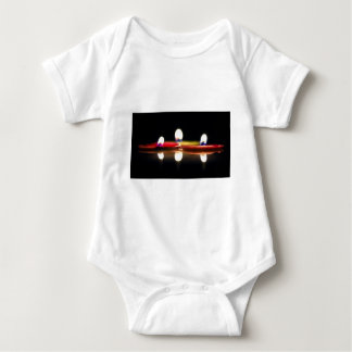 Three Candles Baby Bodysuit