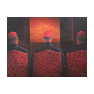 Three Cardinals 2012 Canvas Print