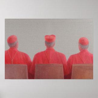 Three Cardinals II 2012 Poster