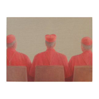 Three Cardinals II 2012 Wood Wall Art