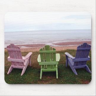 Three chairs mousepad