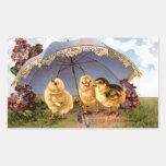 Three Charming Easter Chicks