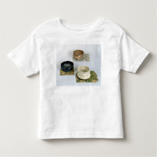 Three chawans used for tea ceremonies, c.1800 toddler T-Shirt