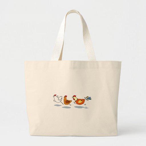 Three Chicks Tote Bags