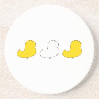 Three Chicks Coaster