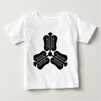 Three China round fan Baby T-Shirt
