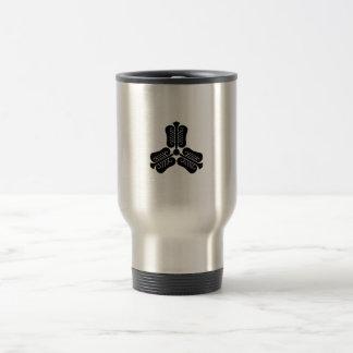 Three China round fan Stainless Steel Travel Mug