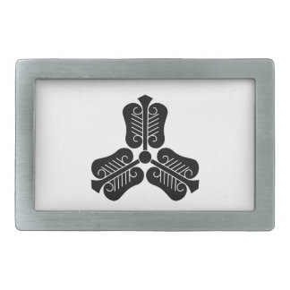 Three Chinese fans Belt Buckle
