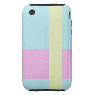 Three Color Palette Combination Complementary  Mix iPhone 3 Tough Cases