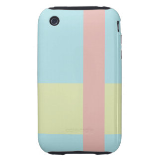Three Color Palette Combination Complementary Mix Tough iPhone 3 Cases