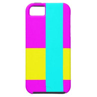 Three Color Palette Combination - Harmonious Mix Tough iPhone 5 Case
