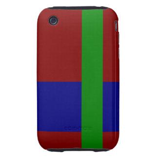 Three Color Palette Combination - Harmonious Mix iPhone 3 Tough Covers