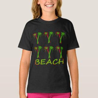 three colorful palm trees T-Shirt