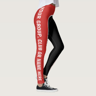 Three Colour Customisable Named Leggings