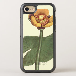 Three Coloured Water Lily Botanical Illustration OtterBox Symmetry iPhone 7 Case