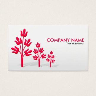 Three Crimson Trees - V2 Business Card