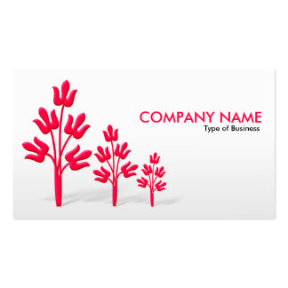 Three Crimson Trees - V2 Pack Of Standard Business Cards