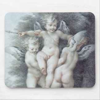 Three Cupids Mouse Mat