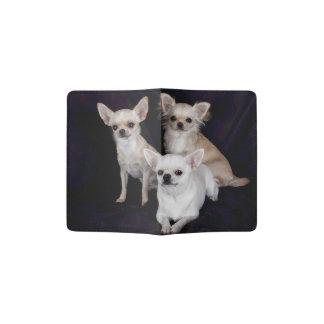 Three Cute Chihuahuas Passport Holder