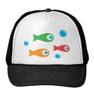Three Cute Fish Hats