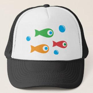 Three Cute Fish Trucker Hat